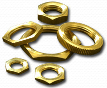 Brass Hex Nuts Brass Cold forged nuts